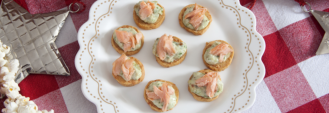 Smoked Trout, with Caper and Lemon Hors d'oeuvres