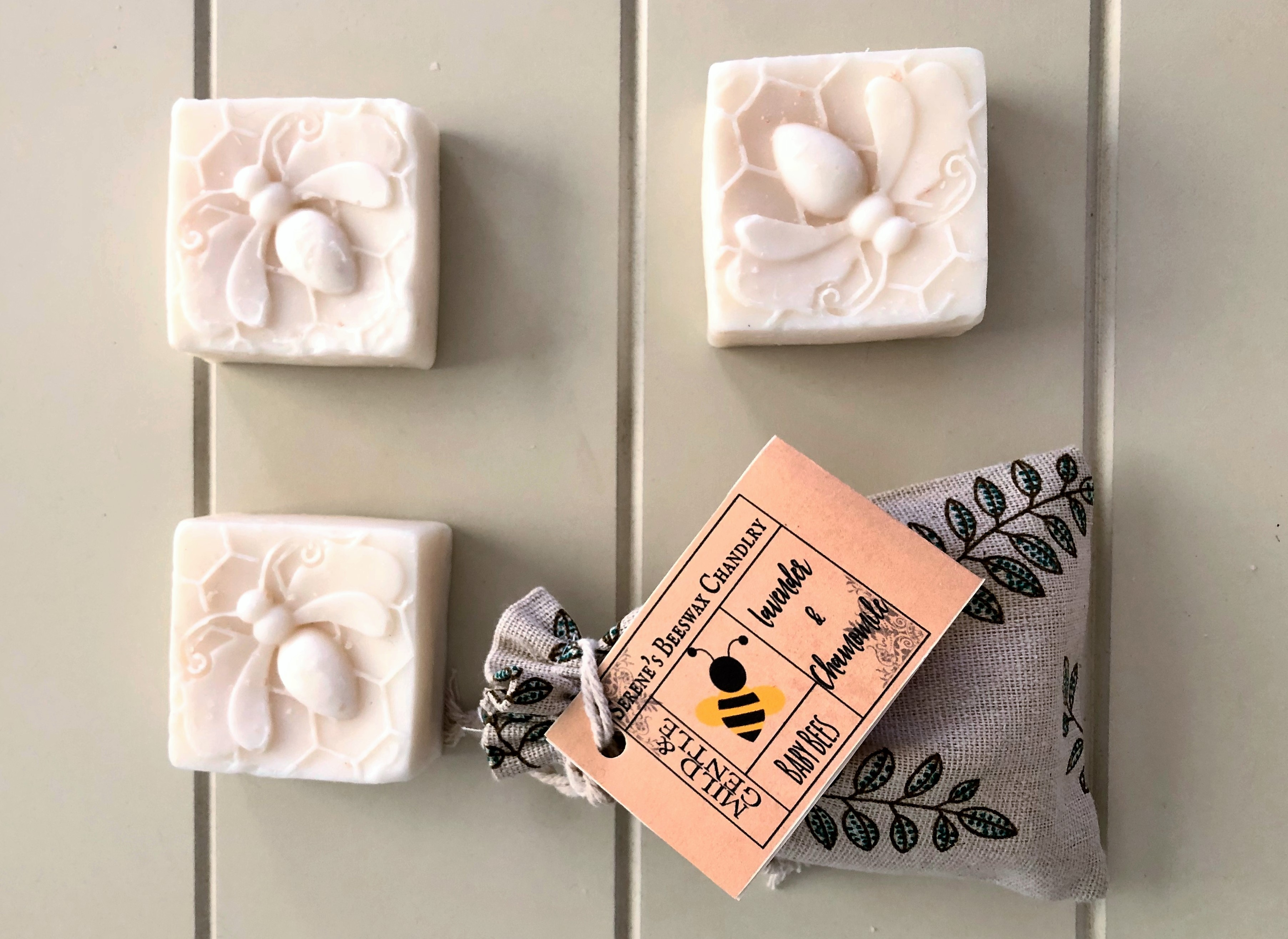 Handcrafted Soap - Baby Bees