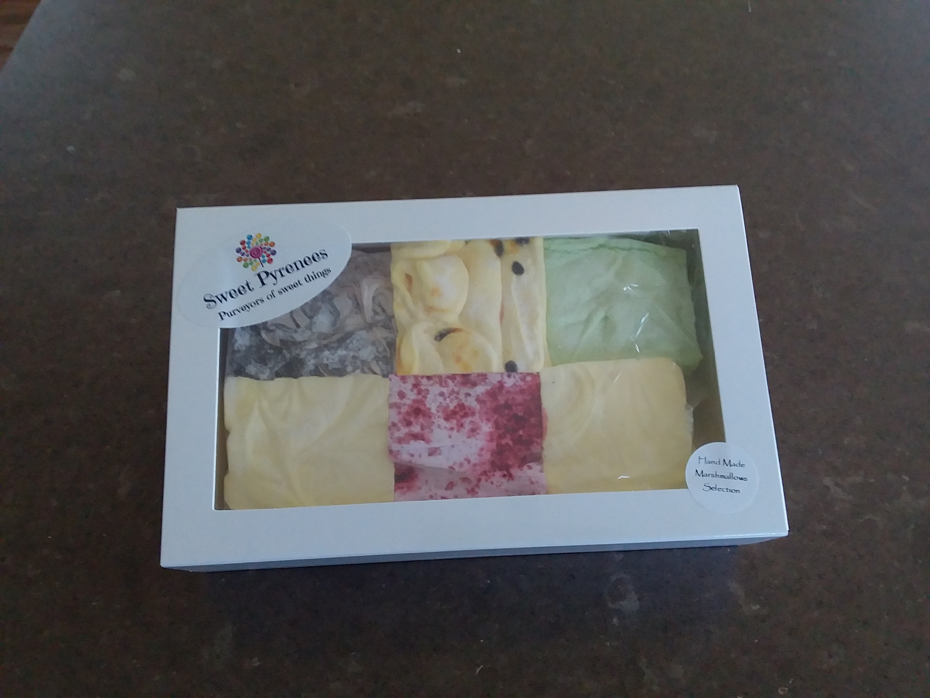 Gift Box Assorted Marshmallow Selection