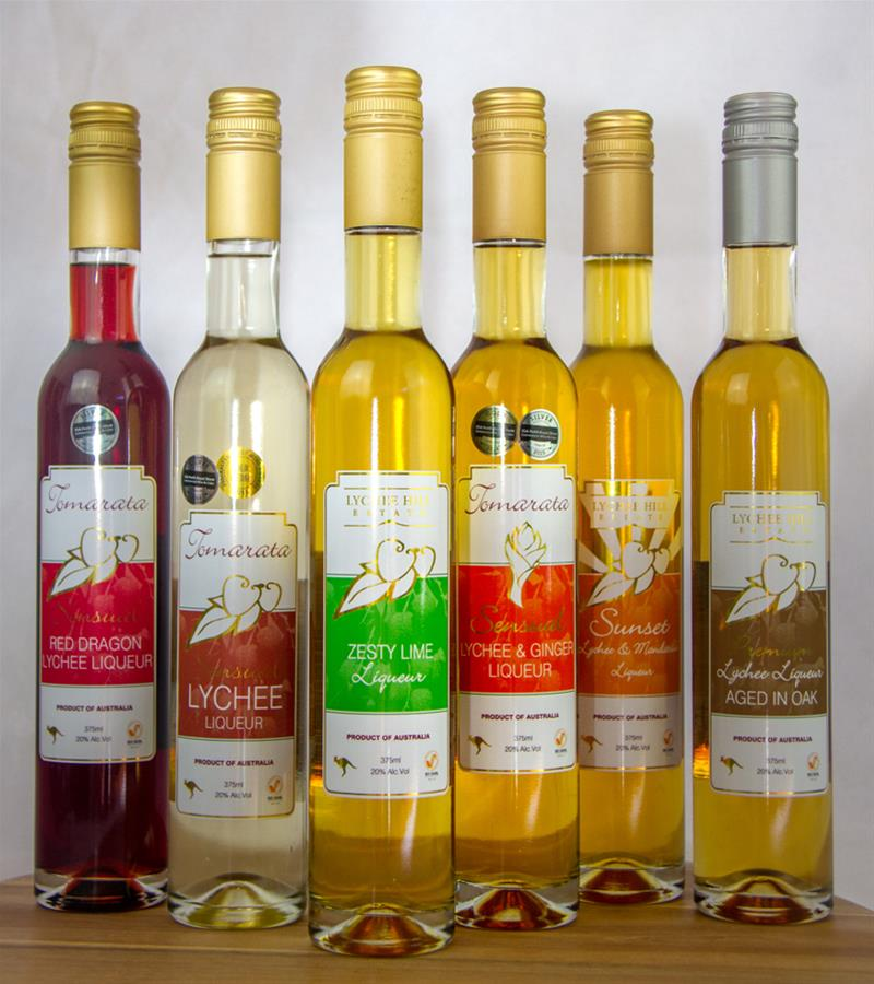 Our range of liqueurs