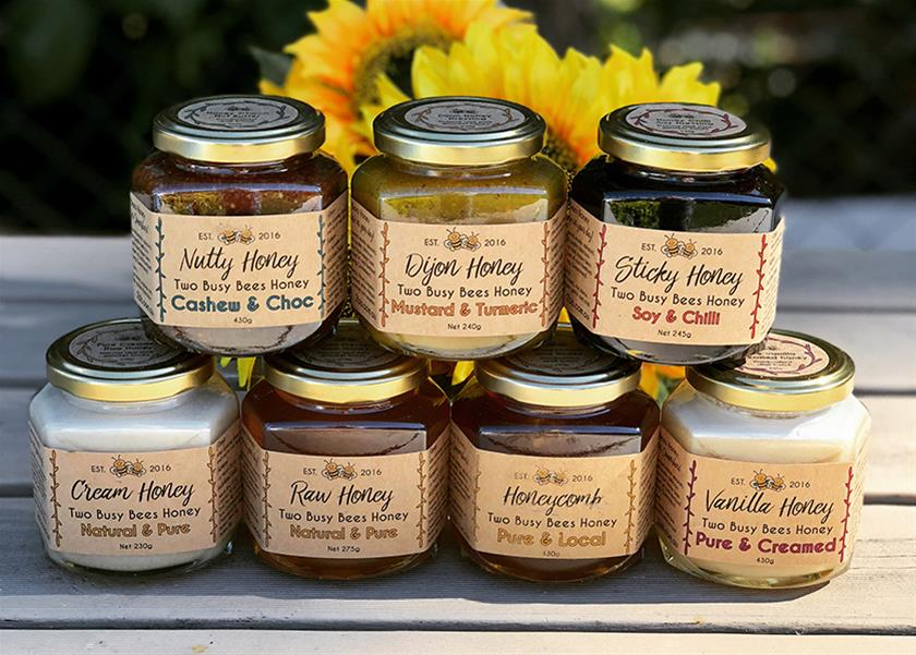 Two Busy Bees Honey Gourmet Range