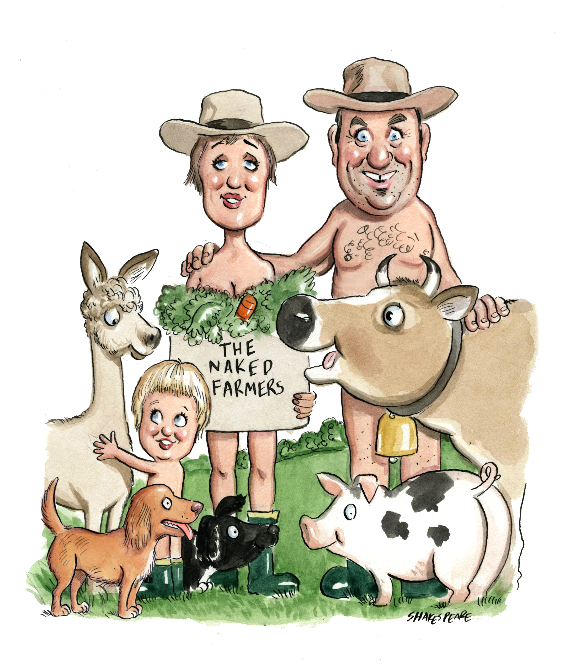 The Naked Farmers