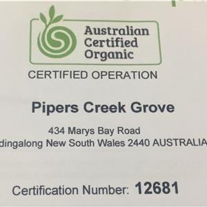 Pipers Creek Grove (Dondingalong Organic Bushfoods)